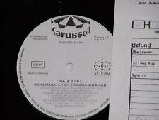 BATA ILLIC -Dich erkenn' ich mit...- LP 1975 Karussell Promo Archiv-Copy mint
