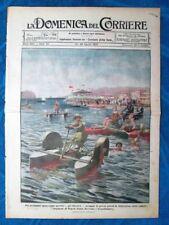 La Domenica del Corriere 22 agosto 1920 Napoli - Polonia - Carabinieri