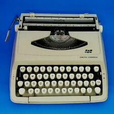 Vintage Typewriter SMITH CORONA PROFILE 1960s Made in England Portable