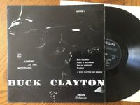 JUMPIN' AT THE WOODSIDE:  A BUCK CLAYTON JAM SESSION: Rare Dutch Vinyl LP 12""