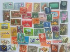 100 Different Netherlands Colonies Stamp Collection