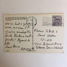 Seal and Bird Rock 17 Mile Drive Postmark Salinas California 1978 Postcard