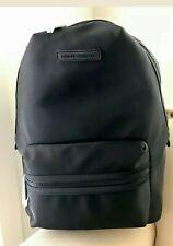 Tommy Hilfiger Nylon Backpack School Travel Bag Laptop Sleeve Black