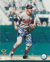 Brooks Robinson Baltimore Orioles Autographed 8x10 Photo CAS COA With HOF