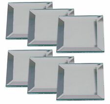 Stained Glass 2x2 inch mirror bevels 6 pack