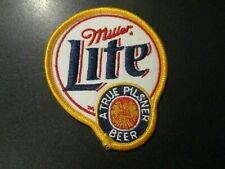 "MILLER LITE High genuine True Pils 3.5"" PATCH sew on craft beer brewing brewery"