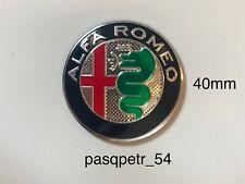 ALFA ROMEO 40mm Logo emblema adesivo Volante per Mito 147 156 159 166 Giulietta