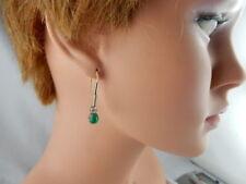Smaragd Echtschmuck aus mehrfarbigem Gold für Damen