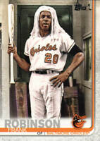 FRANK ROBINSON 2019 Topps Series 2 (SP) LEGENDS VARIATION Card# 529