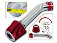 BCP RED 92-95 Civic/93-97 Del Sol 1.5/1.6L Short Ram Air Intake System + Filter