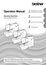 Brother SC3000 Sewing Machine Owners Instruction Manual Reprint
