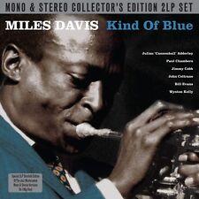 Miles Davis KIND OF BLUE Mono & Stereo 180g GATEFOLD Coltrane NEW VINYL 2 LP