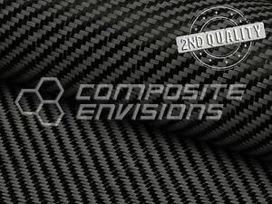 """Carbon Fiber Fabric 2x2 Twill 50"""" 3k 5.7oz/193.26 2ND QUALITY"""