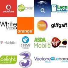 10x Bulk New SIM Cards - 02 EE Vodafone Tesco & ASDA Mobile T-Mobile Lyca Orange