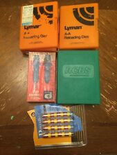 Lot of Pacific & Lyman Reloading Die Sets Neck Expand 270 M-1 38 Mag 243 Win