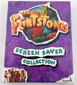 The Flintstones Screen Saver Collection Sealed Big Box (Macintosh, 1994)