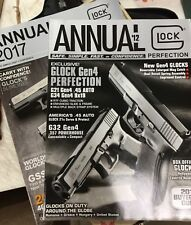 NEW! Stored Flat! 2012 & 2017 GLOCK Annuals 220 Combined Pages Of Totally GLOCKS