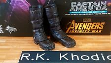 Hot Toys MMS481 Avengers Captain America 1/6 action figure's shoes / Boots only!