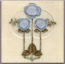 Art Nouvea Ceramic or Porcelain Tiles Fireplace Kitchen Bathroom ref an 45