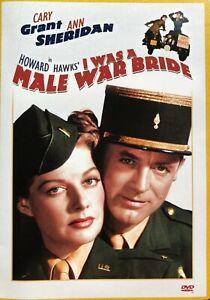 I Was A Male War Bride DVD Black & White Movie REGION 1 Cary Grant, Ann Sheridan
