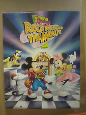 Vintage Mickey's Rock Around the Mouse poster disney    4460
