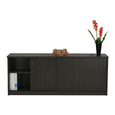 CREDENZA or  BUFFET sliding door cabinet Commercial Buisness Office Furniture