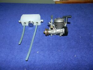 Vintage Kyosho GS11 Nitro Engine NOS Never Used With fuel Tank