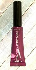 Loreal Infallible Paints Lip Color 302 Violet Twist .27 FL OZ New Free Shipping