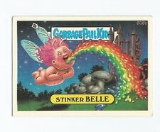 Stinker Belle 608b - Garbage Pail Kids GPK Original Series 15 Card 1988