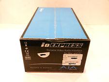 AJA IO-EXPRESS Portable Video/Audio I/O Interface with Express Card/34 adapter