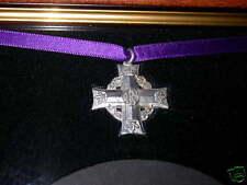 Frame WW1 Trio Medals Plaque & Canadian Memorial Cross
