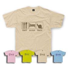 Eat Sleep Snail T-Shirt Snails Kids sizes 1/2yrs to 11/12 yrs