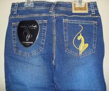 Baby Phat Str8 Leg Stretch Jeans Size 5 Denim Pants NWT