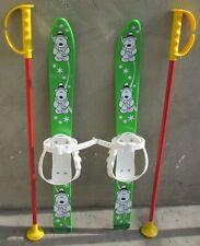 Kinderski Babyski Lernski 70cm für Kinder in Fabe Grün