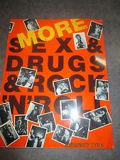 MORE SEX & DRUGS & ROCK'N'ROLL - LIBRO FOTOGRAFICO INGLESE - PUNK