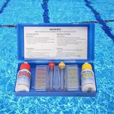 Swimming Pool PH Chlorine Water Quality Test Kit Tester Hydrotool Testing Kit