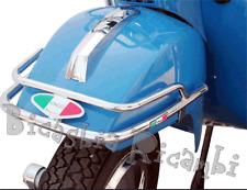 1234 - PARAURTI PARAFANGO ANTERIORE CROMATO VESPA PX 125 150 200 ARCOBALENO