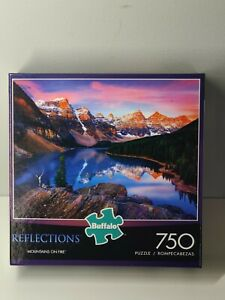 Buffalo Games Puzzle Reflections Mountains on Fire 750 Pieces