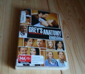 GREY'S ANATOMY SEASON FIVE MORE MOMENTS DVD 7 Disc Set Medical DOCTOR TV Drama