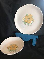 Vintage Nasco Delta Platter & Bowl Japan