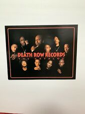 Death Row Records The Catalog Poster Snoop Dogg Dr Dre 2pac