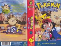 POKEMON PRIMEAPE PROBLEMS VOLUME EIGHT VHS PAL VIDEO~ A RARE FIND