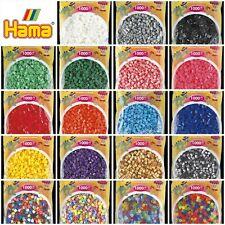 Hama Beads 1000 & 3000 Packs for Pegboards Genuine Hama Midi Bead *Full Range*