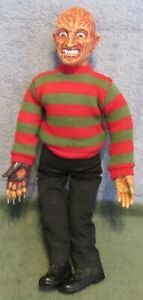 "1989 Freddy Kruger 17"" Talking Doll~Nightmare on Elm Street~Talks W/Pull String"