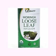 Moringa Loose Leaf Infusion 100g. Certified Organic Product by Grenera