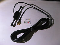 Antenna GSM GPRS 900 1800Mhz 3dbi 3M RG174 Cable SMA Male - NEW Qty 1