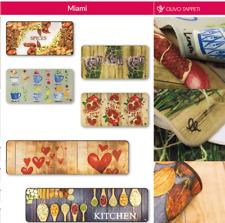 Tappeto cucina MIAMI passatoia varie misure antiscivolo disegno DIGITAL CASA