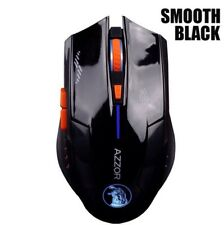 Gaming Mouse Wireless 2400DPI Optical Laser 2.4Ghz (Smooth Black) (Brand New)