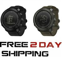 Suunto Traverse Alpha Foliage Stealth Black/Red GPS Stainless Steel Sports Watch