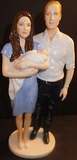 Royal Doulton Royal Birth Prince George William Kate Figurine HN5716 Brand New